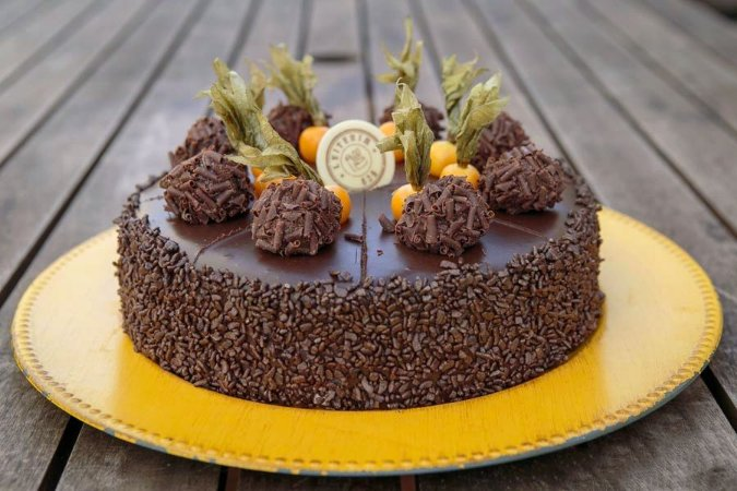 Torta Negrinho por Tudo Mini