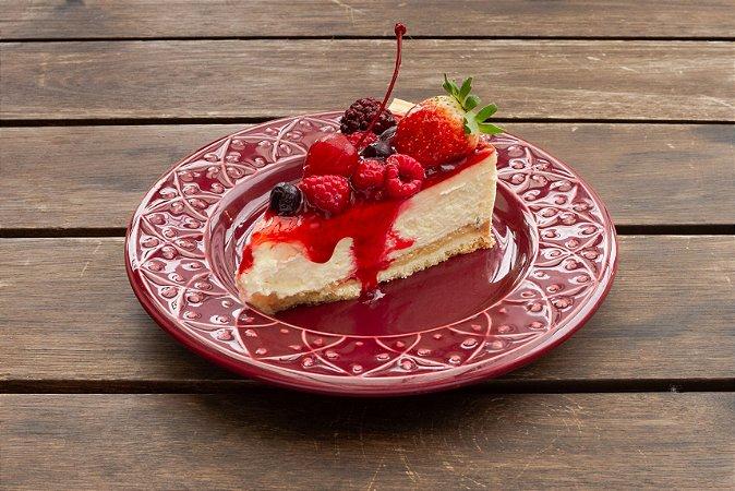 Cheesecake de Frutas Vermelhas (fatia)