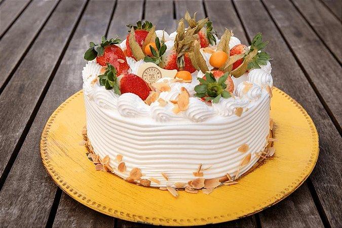 Torta Moranguinho e Nata Mini