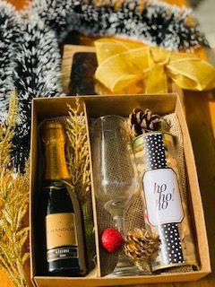 Box Gold Christmas