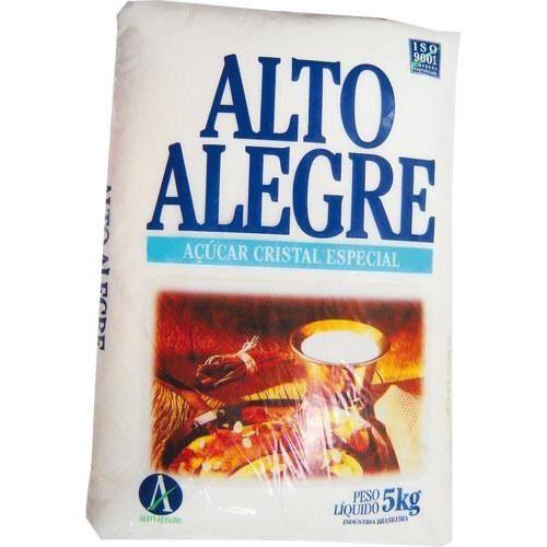 Açúcar Cristal Alto Alegre Pacote 5Kg