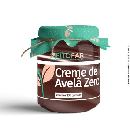Creme de Avelã Zero - 100g