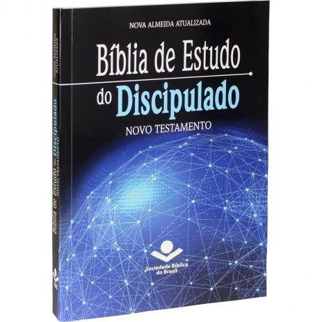 Bíblia de Estudo do Discipulado | Novo Testamento | Nova Almeida Atualizada