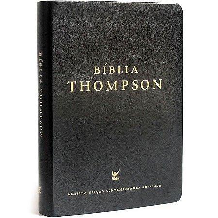 Bíblia Thompson | Preta PU | Editora Vida