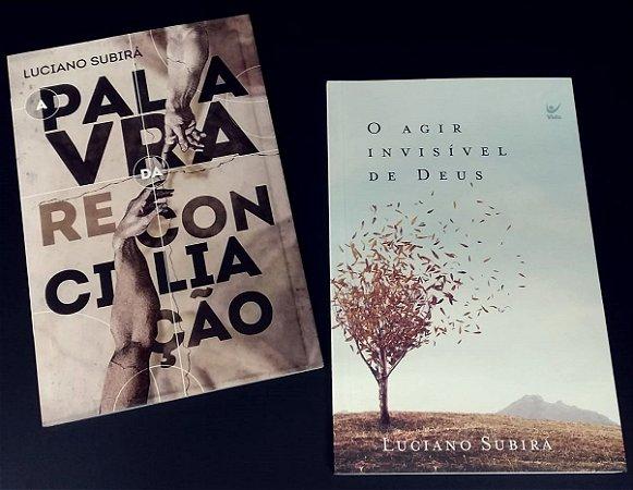 Combo Luciano Subirá   A Palavra da Reconciliação+O Agir Invisível de Deus