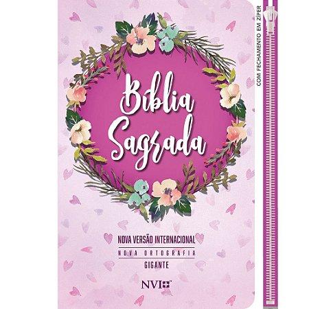 Bíblia NVI   Zíper   Letra Gigante