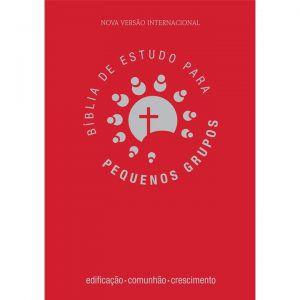 Bíblia de Estudo para Pequenos Grupos | NVI | Ed. Palavra