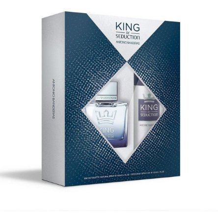 Kit King Of Seduction 100ml + Desodorante Spray 150ml