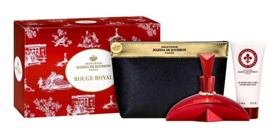 Kit Rouge Royal 100ml + Body Lotion 100ml + Necessaire