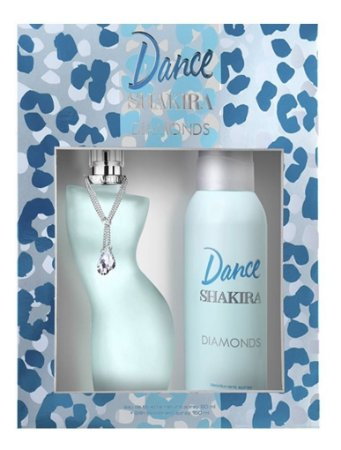 Kit Shakira Dance Diamonds 80ml + Desodorante Spray 150ml