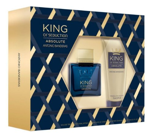 Kit King Of Seduction Absolute 100ml + Pós Barba 75ml