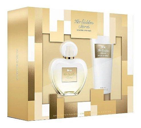 Kit Her Golden Secret 80ml + Body Lotion 75ml
