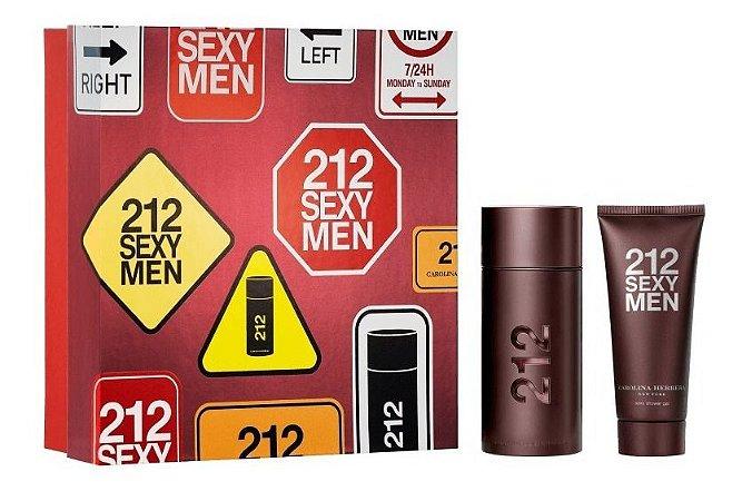 Kit 212 Sexy Men 100ml + Shower Gel 100ml