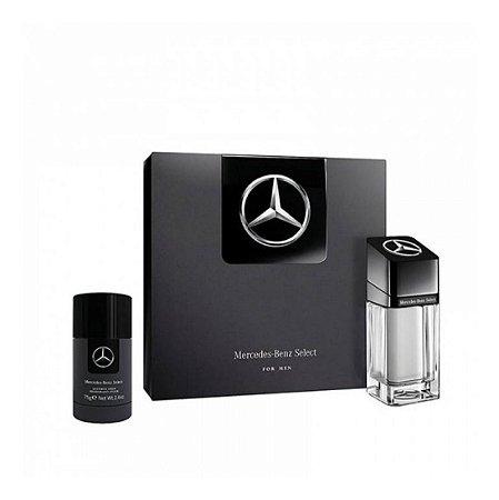 Kit Mercedes Benz Select 100ml + Desodorante Stick 75g
