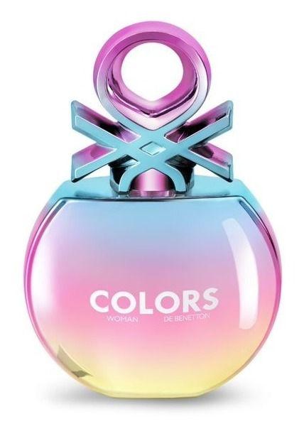 Benetton Colors Holo - Eau de Toilette - Feminino - 80ml