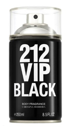 212 Vip Black - Body Spray - Masculino - 250ml