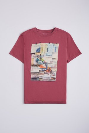 CAMISETA ESTAMPADA PF PICA POST IT RESERVA