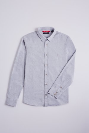 CAMISA REGULAR CHAMBRAY ML VER20 RESERVA