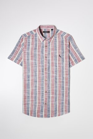 CAMISA PF MC FT LISTRADO IRREGULAR RESERVA