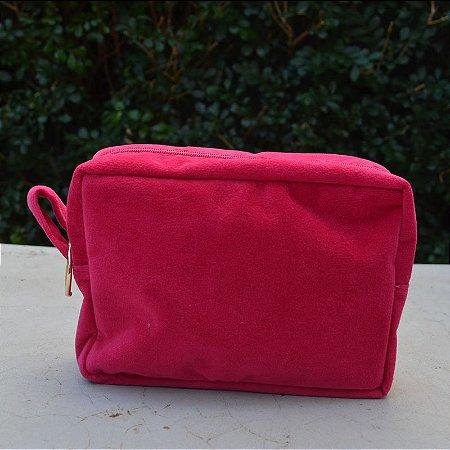 Necessaire Plush Pink - Pequena