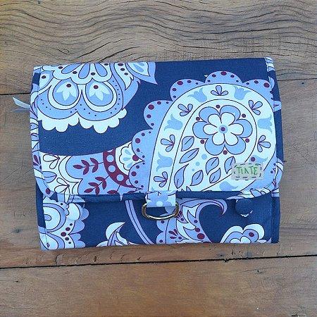 Necessaire Bag Azul Flor