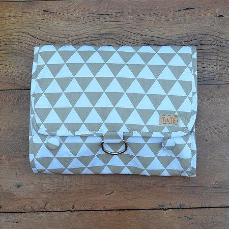 Necessaire Bag Triângulos Fendi