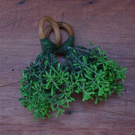Porta Guardanapo Folhas Baguetes - 2 peças