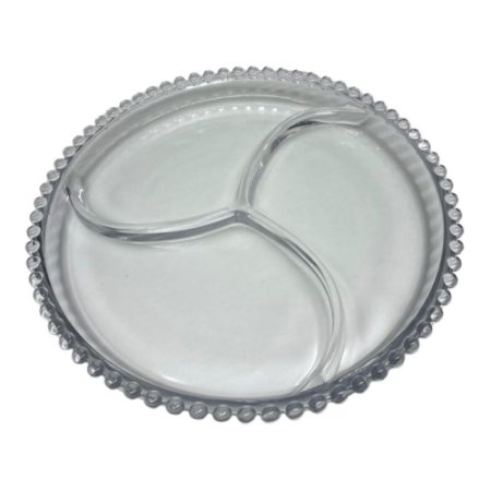 Petisqueira em Cristal de Chumbo Wolff Pearl 24cm