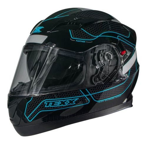 CAPACETE TEXX G2 PANTHER AZUL TAM. 58