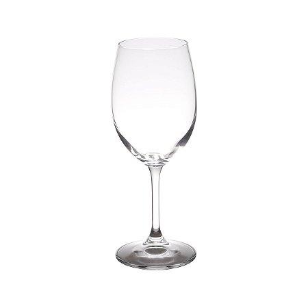 Conjunto 06 Taças Vinho Tinto Cristal Ecológico Sylvia 350ml