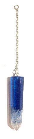 Pingente Avulso - Azul c/ Cristal