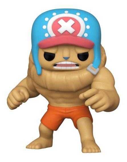 Boneco Funko Pop! Animation: One Piece - Tony Tony Chopper Buffed (2021 ECCC Spring Convention)
