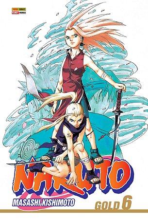 Naruto Gold - Volume 6 (Lacrado)