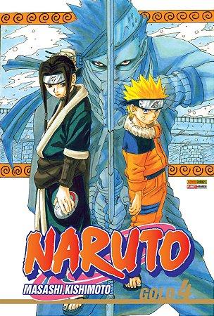 Naruto Gold - Volume 4 (Lacrado)