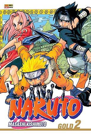 Naruto Gold - Volume 2 (Lacrado)