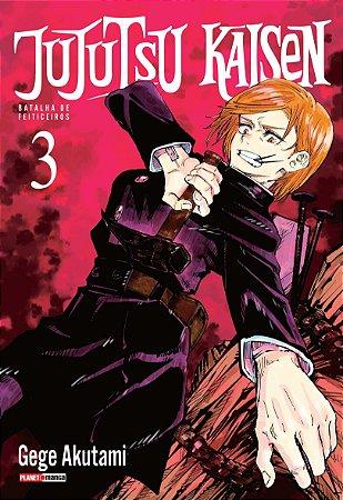 Jujutsu Kaisen - Batalha de Feiticeiros - Volume 3 (Lacrado)