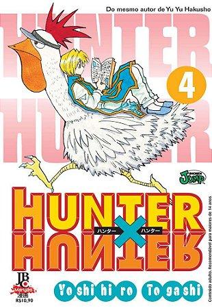 Hunter x Hunter - Volume 4 (Lacrado)