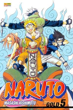 Naruto Gold - Volume 5 (Lacrado)