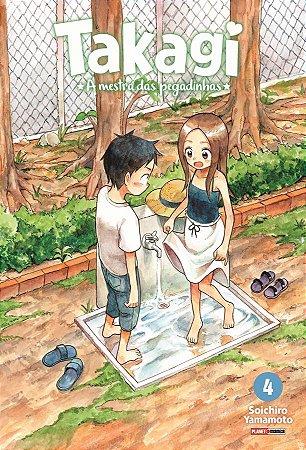 Takagi a Mestra das Pegadinhas - Volume 4 (Lacrado)