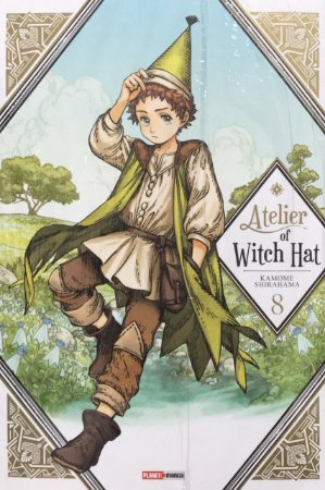 Atelier Of Witch Hat - 8 (Lacrado)