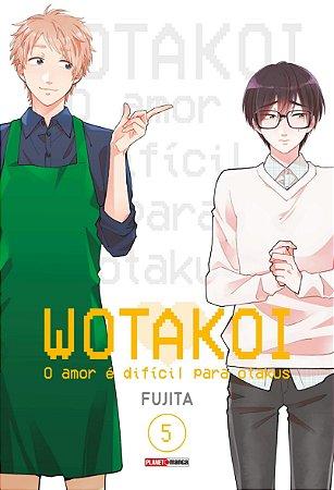 Wotakoi: O amor é difícil para Otakus - 5