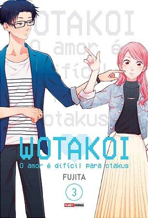 Wotakoi: O amor é difícil para Otakus - 3