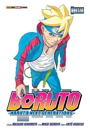 Boruto: Naruto Next Generations - 5 (Lacrado)