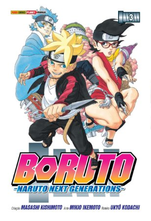 Boruto: Naruto Next Generations - 3 (Lacrado)