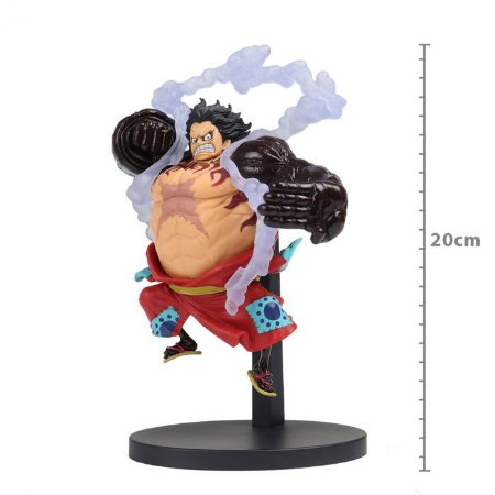 Figure One Piece - Monkey D. Luffy Gear 4 (Bound Man) - King of Artist Saga de Wano
