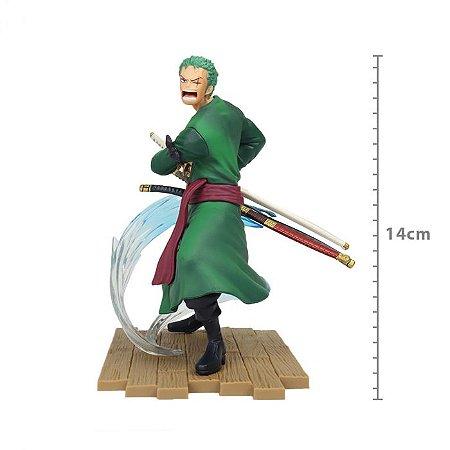 Figure One Piece - Roronoa Zoro - Log File Selection Fight