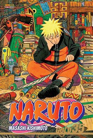 Naruto Gold - Volume 35 (Lacrado)