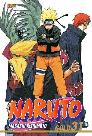 Naruto Gold - Volume 31 (Lacrado)