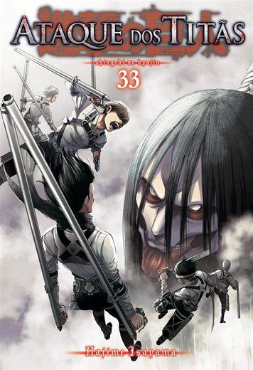 Ataque dos Titãs - Volume 33 (Lacrado)