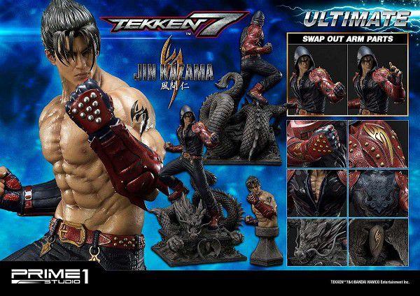 Premium Masterline Series - Tekken 7 - Jin Kazama - Escala 1/4